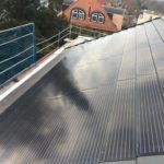Ziegeleindeckung mit Braas Glattziegel und Solaranlage